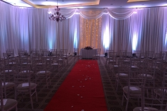 Wedding day Decor Co.Meath October 2017