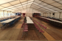 Oktoberfest Marquee without lining and pelmets Carrickmacross Co.Monaghan October 2015