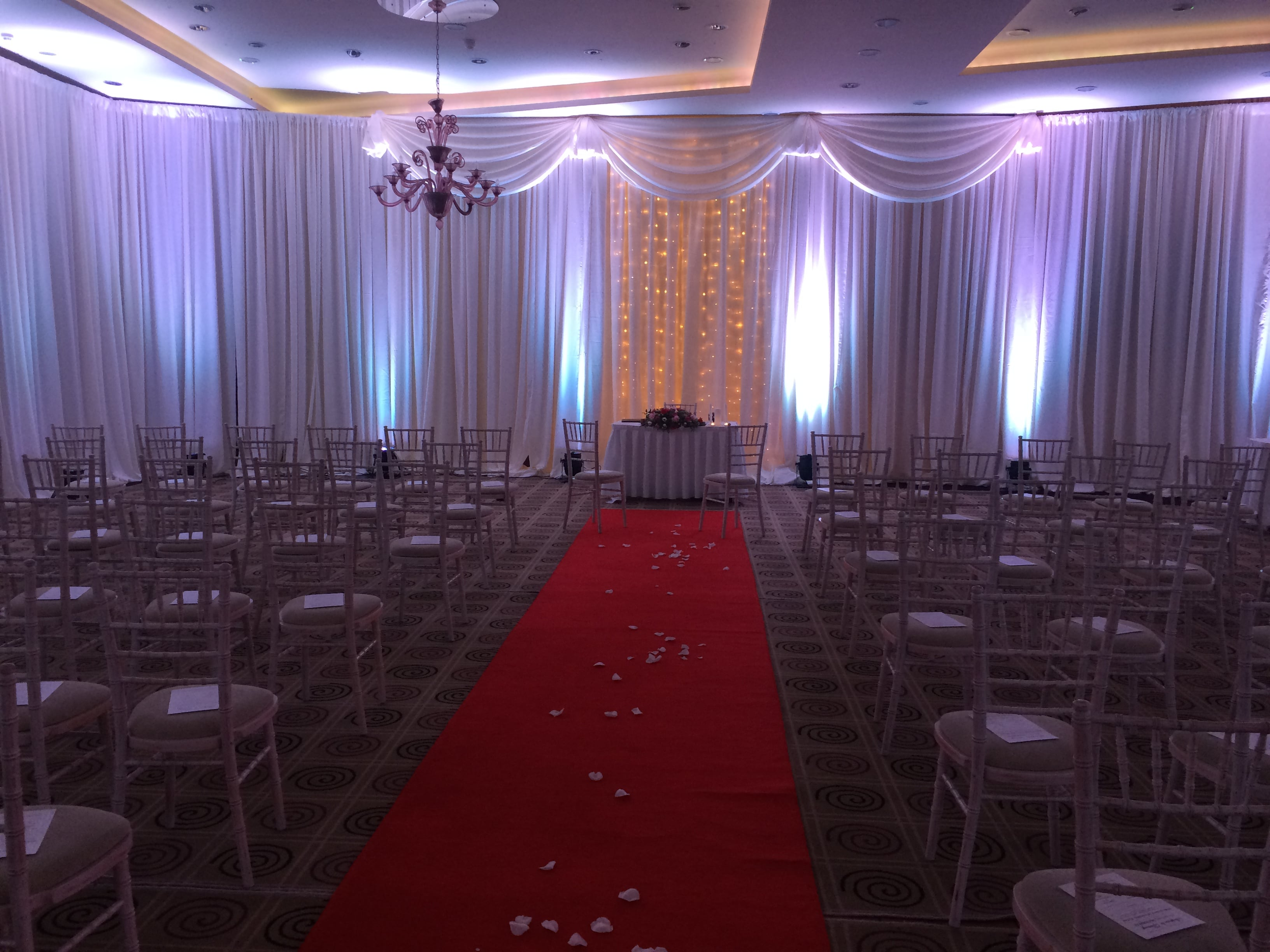 Dream Events Management - Pipe and Drape